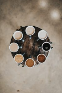 different kinds of coffee